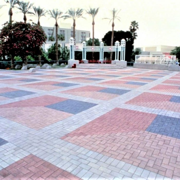 CEMENT BOND PAVERS PROMENADE - DISPLAYING VARIOUS COLOURS