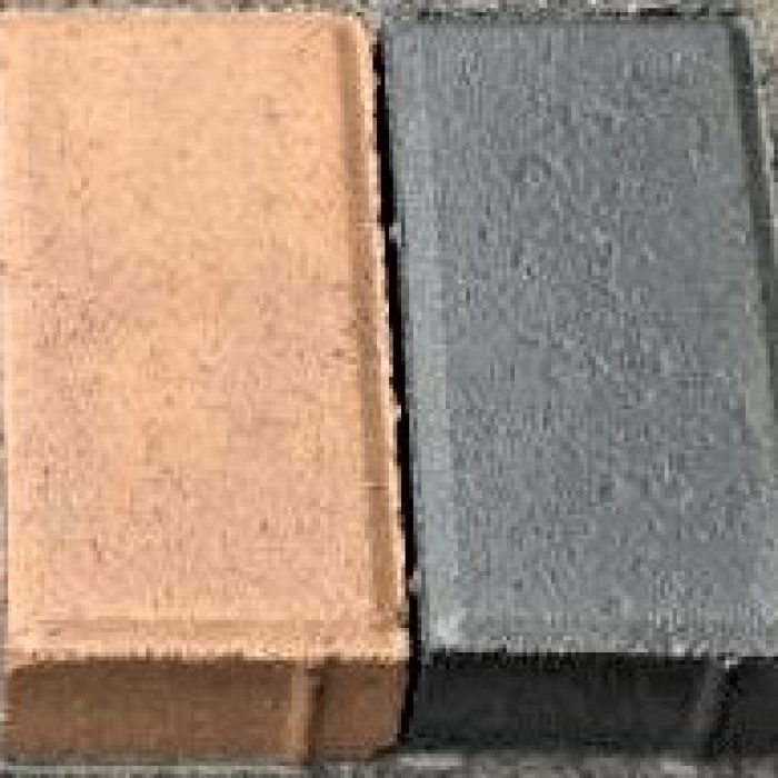 CEMENT BOND PAVERS - TAN _ CHARCOAL