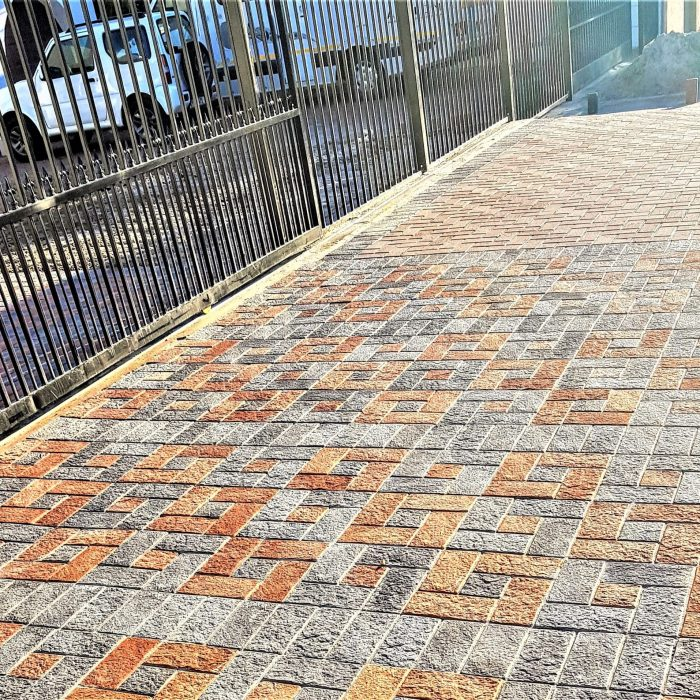 EXPOSED AGGREGATE PAVING