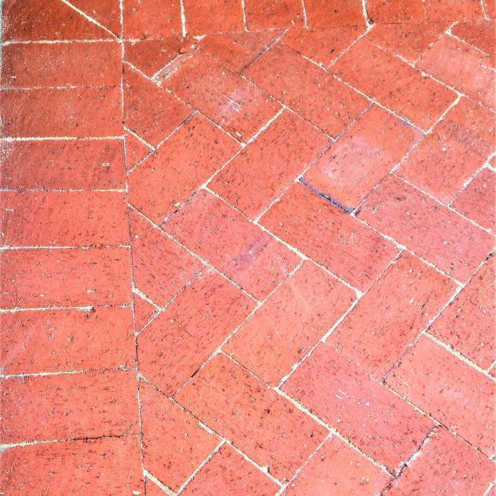 RED DE HOOP CLAY PAVERS