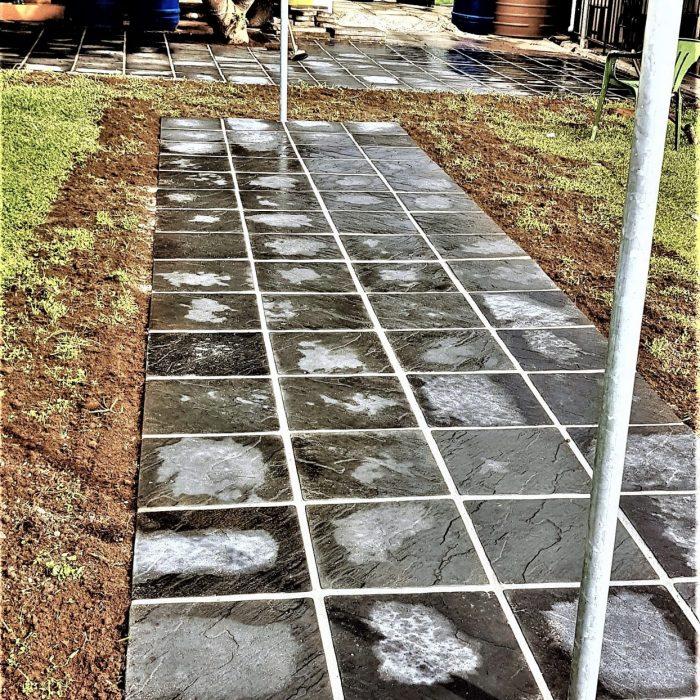 SLABS - WASHING LINE AREA